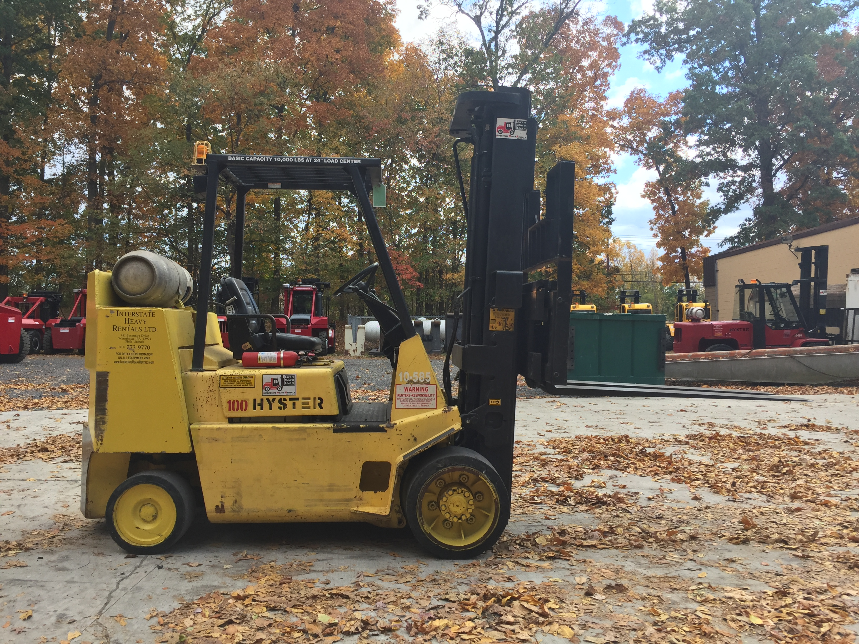 Hyster e80xl Forklift Manual on